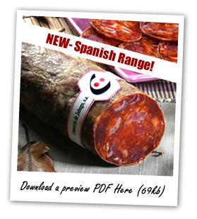 Spanish Meats Coming Soon - Download a PDF preview (69kb)